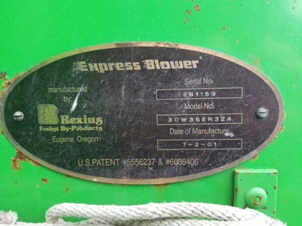 2001 Express Blower EB 30