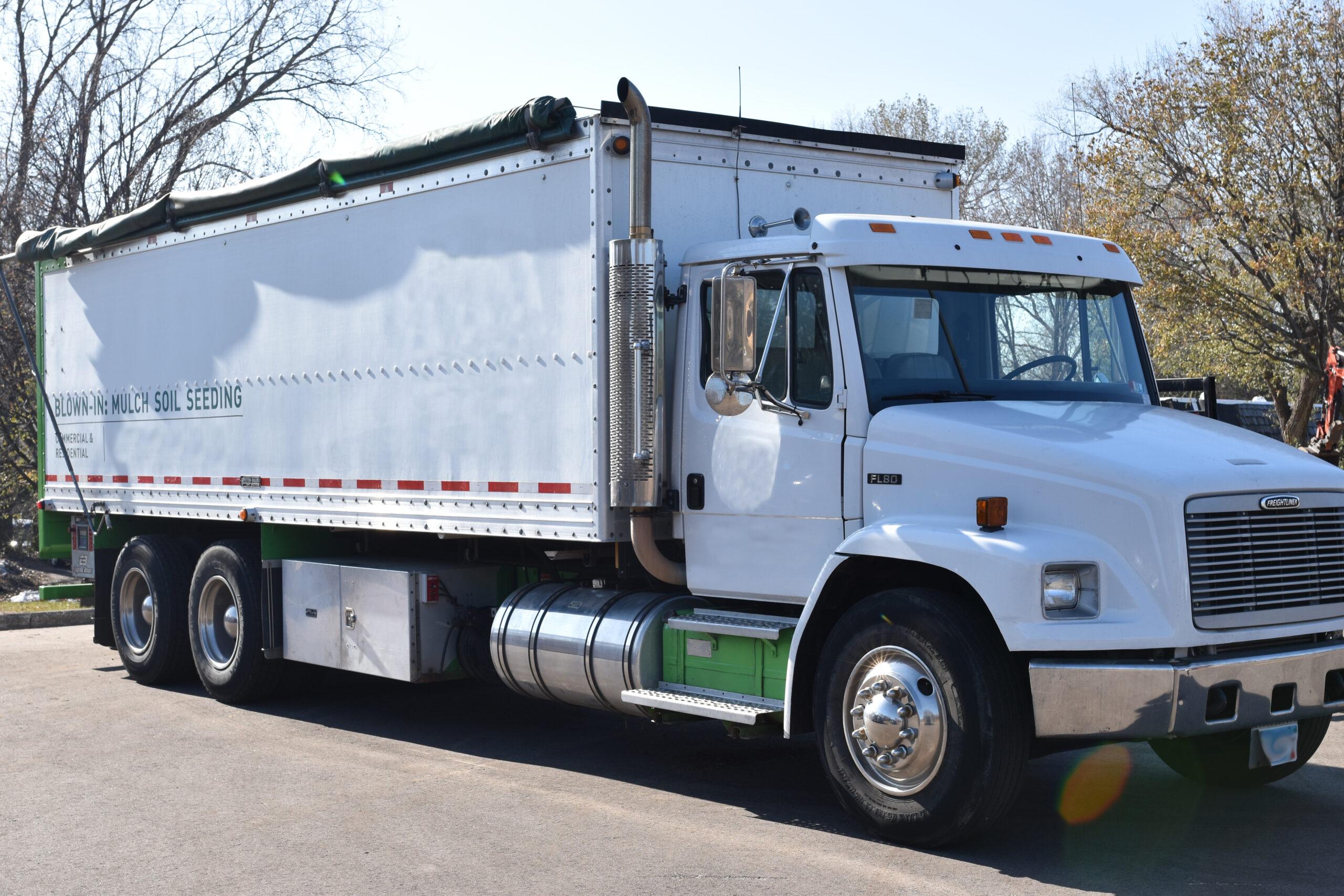 Express Blower EB-40 Blower Truck on Freightliner FL80