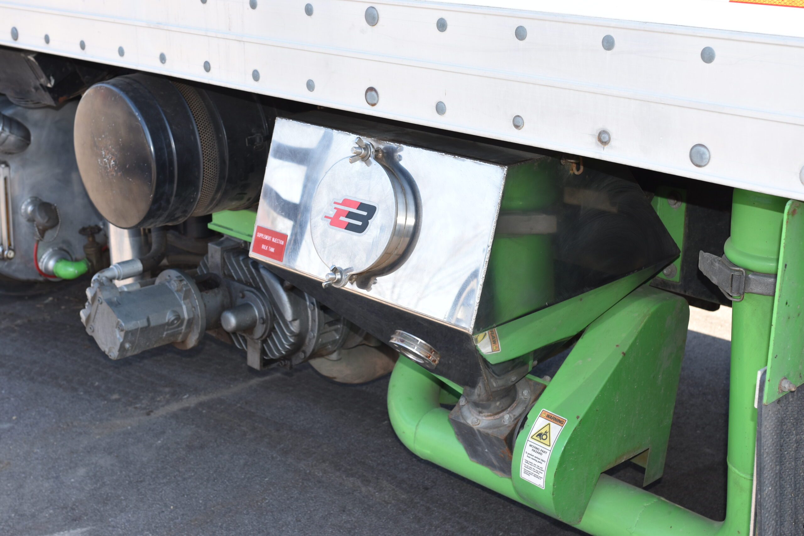 Express Blower EB-40 Blower Truck Seed Injection System