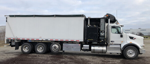 Express Blower TM-45MD Blower Truck on Peterbilt 567 Chassis