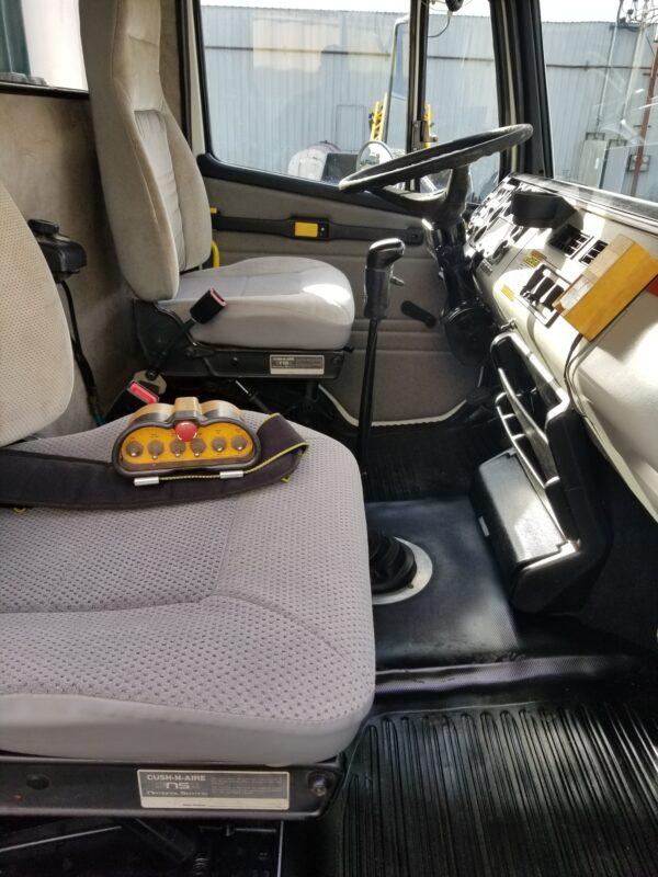 Express Blower EB-60 Blower Truck Interior