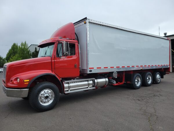 Express Blower EB-60 Blower Truck on Freightliner FL112 Chassis