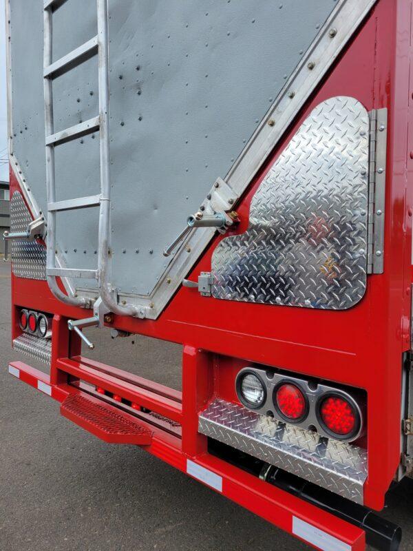 Express Blower EB-60 Blower Truck Hose Storage Tubes